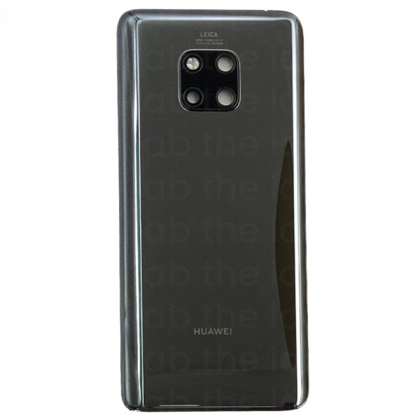 For Huawei Mate 20 Pro Replacement Rear Back Glass Battery Cover (Black) – Original :Pulled a