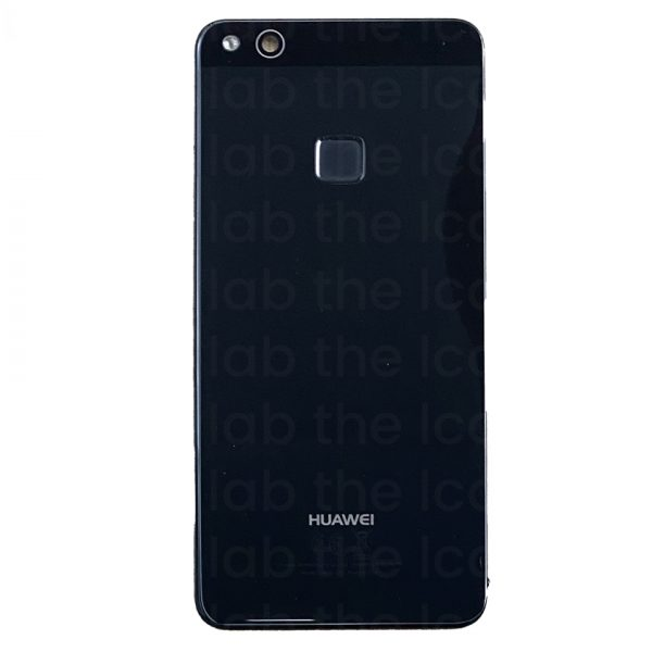 For Huawei P10 Lite Replacement Rear Back Glass Battery Cover (Black) – Original :Pulled
