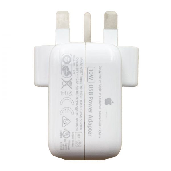 Genuine Apple iPad 10W Mains Power Adapter A1357 c
