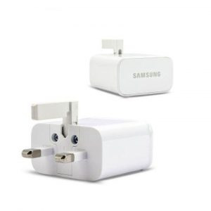 Genuine Samsung UK Mains Power Adapter 2.0A EP-TA12UWE